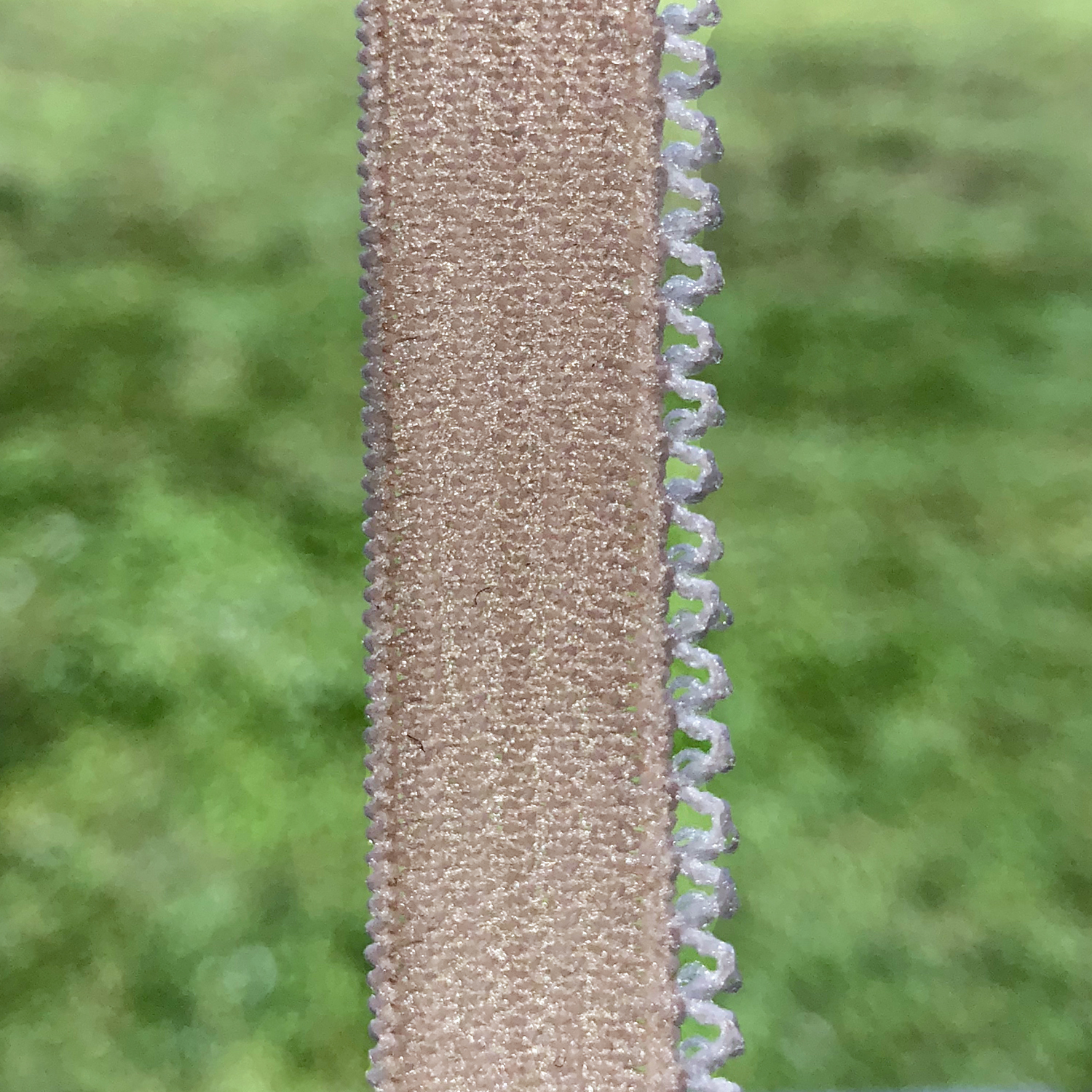 Custom Knitted Elastic with Picot